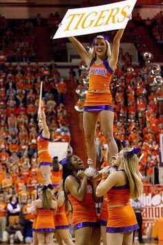 NCAA Basketball: North Carolina at Clemson by joshuak8, via Flickr cheerleaders