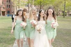 Awesome Mint green bridesmaid dresses 2018-2019 Check more at http://fashionmyshop.com/review/mint-green-bridesmaid-dresses-2018-2019/
