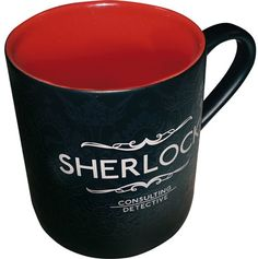 official BBC Sherlock mug