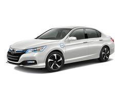 Honda Accord Plug-In Hybrid Sedan White