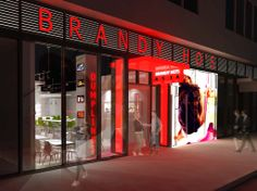 Entrance to Brandy Ho's Asia