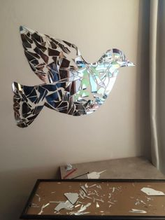 Made out of a broken mirror
