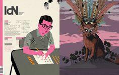 IdN v21n3: Editorial Illustration – New Faces of Inspiration