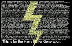 ... I LOVE BEING THE HARRY POTTER GENERATION!!!