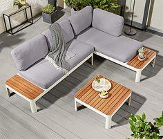 Holly: Outdoor Bett, Sofa Und Liege Für Gemütliches Ambiente Auf Terrasse  Und Balkon   Loungemöbel Für Terrasse Und Garten   Pinterest   Banks