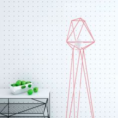 """Ukrainian design company """"Levantin Design"""" created geometric floor lamps called """"Fitments"""" that display and emphasize the geometric shapes. Geometric Lamp, Geometric Shapes, Interior Lighting, Modern Lighting, Lighting Ideas, Energy Efficient Lighting, Modern Floor Lamps, Cool Furniture, Furniture Outlet"""