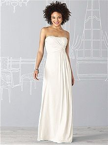 After Six Bridesmaid Dress 6623    #white/ivory #bridesmaid #dress