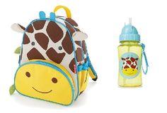 Back to school prosto od marki Skip Hop. Za pasem szkoła więc plecak zoo i bidon idealnie  spełnią się w roli towarzyszy dla mojego malucha :) Zestaw zakupiony :) A! Bidon jest gratis! :) #szkola #dziecko #plecak #skiphop #promocja