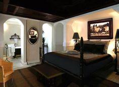 Best Home Idea Healthy: Bachelor Bedroom Ideas Black Rooms, Bedroom Black, Dream Bedroom, Bedroom Ceiling, Bedroom Decor, Bedroom Ideas, Masculine Home Decor, Masculine Bedrooms, Aqua Bedrooms