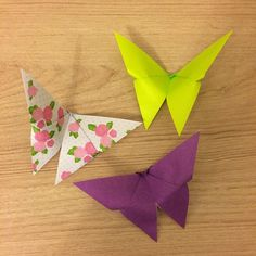 Butterfly origami by Tania Ishii
