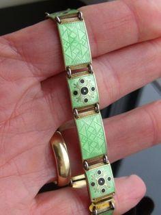 Berard Meldaht Love Bracelets, Cartier Love Bracelet, Bangles, Enamel Jewelry, Silver Jewelry, Modern, Scandinavian, Inspired, Deco
