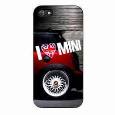 I Love Mini Cooper iPhone 5/5s Case