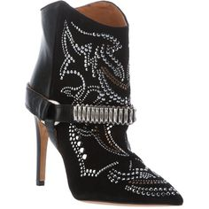 0095db9cf242 Isabel Marant - Black Pre-owned Ankle Boots - Lyst