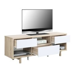 Convenience Concepts Newport Ventura 60-inch TV Stand