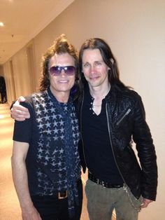 Hey now... @glenn_hughes & my mate @myleskennedy