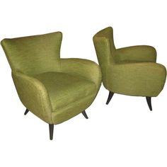 Pair of Ernst Schwadron Lounge Chairs, US c1940