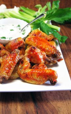 Spicy Pressure Cooked Chicken Wings -Buffalicious!
