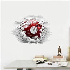 3D Wanduhr Modern Haar Design Lautlos | 3D Wanduhr | Pinterest ...