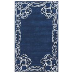 I pinned this Lila Rug from the nuLOOM event at Joss and Main!  This would be so great in a nautical theme.