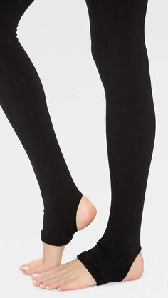 00f9a8975 Plush Fleece Lined Tights with Stirrup  Fleece Plush Lined