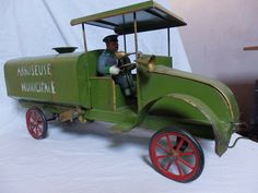 Metal Toys, Toy Trucks, Antique Cars, Automobile, French, Antiques, Vehicles, Vintage Cars, Car