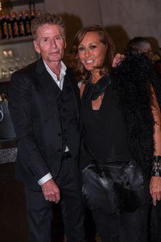 Calvin Klein & Donna Karan... Donna Karan's book party attracts media celebrities, retailers and designers.