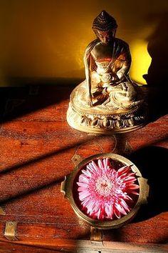 Rang-Decor {Interior Ideas predominantly Indian}: buddha at home...