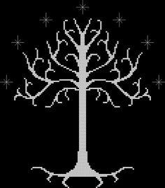 white tree of Gondor chart