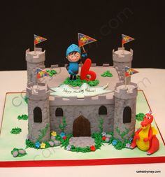 mike the knight birthday ideas | Mike The Knight Castle Cake