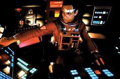 2001 odisea en el espacio:  Detalle interior nave.