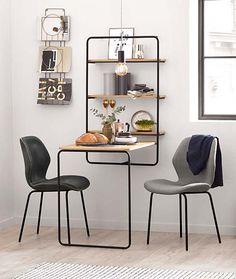 Kleine Sitzecke in der Küche, Essecke, Essen in einer kleinen Küche, Esstisch im industrial style, platzsparender Esstisch, Ideen Esstisch