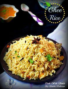 ghee rice , GHEE RICE RECIPE