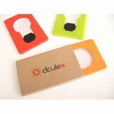 超薄型カードタイプ電球型 LEDライト ワンサイズ イエローグリーン