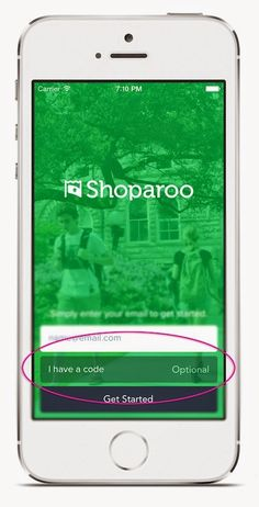 Do you have a referral code? Enter it right here when you sign up with Shoparoo to earn even more!