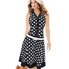 =>Sale onWomen Dresses New Fashion Print Dot Without Belt American Country Style Casual Dresses High Street SleevelessWomen Dresses New Fashion Print Dot Without Belt American Country Style Casual Dresses High Street SleevelessIt is a quality product...Cleck Hot Deals >>> http://id394815760.cloudns.pointto.us/32268435408.html images