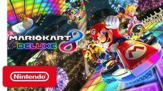 Mario Kart 8 Deluxe: Nintendo pubblica un nuovo trailer