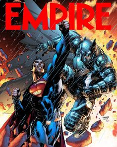 March cover of @EmpireMagazine of #BatmanvSuperman by @JimLeeArt & @JSkipper_Colorist !!! #Batman #Superman #TheDarkknight #ManofSteel #DawnofJustice #JusticeLeague #TheDarkKnightReturns #DCComics #Comics #Art by thegeekrealm