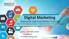 Hub4Tech offers Digital Marketing Business Associates online training course is designed by expert to help you develop well-rounded digital marketing skills.