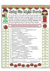Make or Do - multiple choice worksheet - Free ESL printable worksheets made by teachers