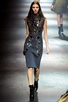 Lanvin Fall 2012 Ready-to-Wear Fashion Show - Kate King (Elite)