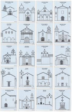 My ebook shows how to draw California missions, and can assist students learning about them in their school studies.