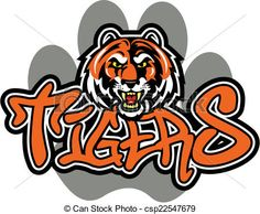 Vector - tiger mascot design - stock illustration, royalty free illustrations, stock clip art icon, stock clipart icons, logo, line art, EPS picture, pictures, graphic, graphics, drawing, drawings, vector image, artwork, EPS vector art