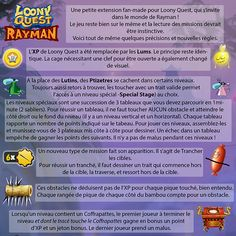 Loony Quest - Rayman World - Regles
