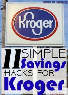 11 Fantastically Simple Hacks to Save Money at Kroger - 11 Simple Hacks to Save Money at Kroger - Ways To Save Money, Money Tips, Money Saving Tips, How To Make Money, Money Hacks, Saving Ideas, Frugal Living Tips, Frugal Tips, Shopping Hacks