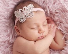 FREE SHIPPING Infant/Toddler Girls Lace Cut Out Headbands Variety of Styles