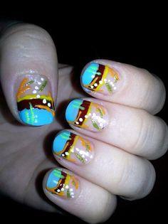 abstract nails art - Nail Art Gallery nailartgallery.nailsmag.com by nailsmag.com #nailart