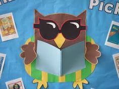 Cute Bulletin Board Ideas | Cute Owl for reading bulletin board | Classroom Ideas