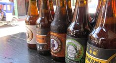Peruvian craft beers.... #Peru #beer