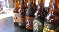 Peruvian craft beers.... #Peru #beer