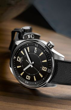 The New Jaeger-LeCoultre Polaris Collection Revives the Spirit of Best Looking Watches, Best Watches For Men, Luxury Watches For Men, Cool Watches, Wrist Watches, Mens Sport Watches, Dream Watches, Seiko Watches, Kit Homes